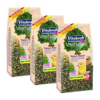 Vita Nature Dinner für Kanarien 750g 3x750g