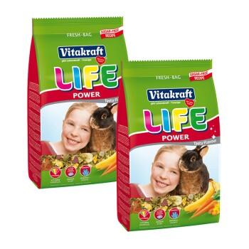 LIFE POWER Zwergkaninchen 2x1,8kg