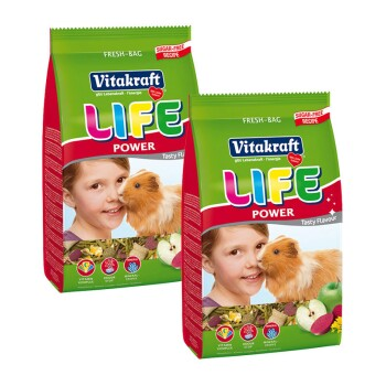 LIFE POWER Meerschweinchen 2x1,8kg