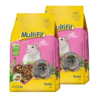 Nagerfutter für Ratten 2x2,5kg