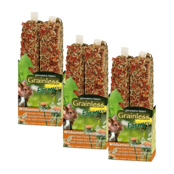 Grainless Farmy's Wildsamen-Distelblüte 3x140g