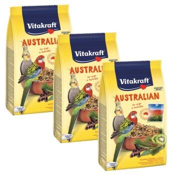 Aliment pour animaux Australian Sittich 800 g 3x800g