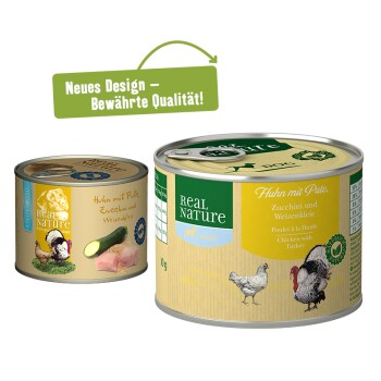Light 6 x 200 g Pute mit Huhn