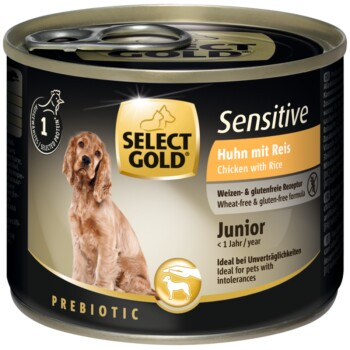 Sensitive Junior Huhn & Reis 6x200g