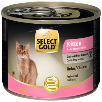 Kitten Huhn 6x200g Huhn
