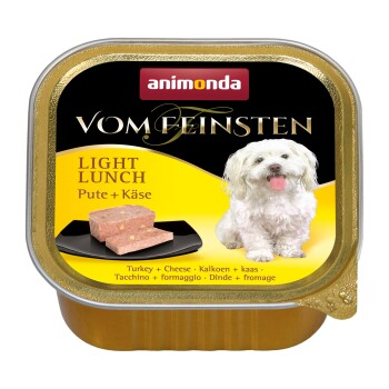 Vom Feinsten Light Lunch 22x150 g Dinde et fromage