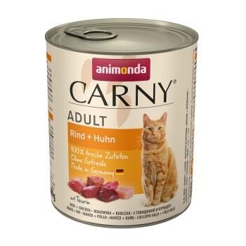 Carny Adult 6x800g Rind & Huhn