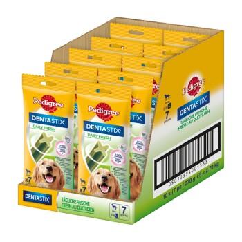 Zahnpflege Dentastix Fresh 10x7 Stück für große Hunde
