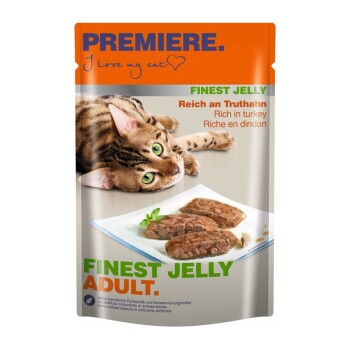 PREMIÈRE Finest Jelly Adult 22x85g Dindon