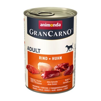 GranCarno Original Adult 6x400g Rind & Huhn