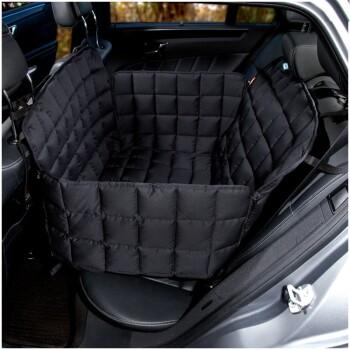 Autoschondecke Rückbank 2-Sitz Schwarz L