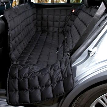 Autoschondecke Rückbank 3-Sitz Schwarz S