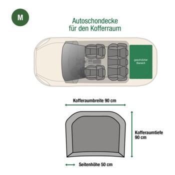 Kofferraum-Schondecke Grau M