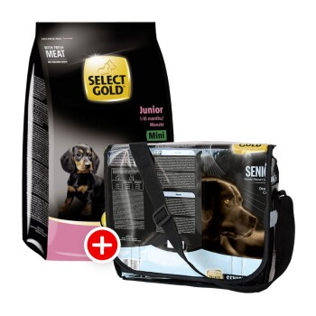 Junior Mini 4kg + gratis Folientasche