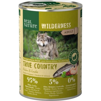 WILDERNESS Adult 6x400g True Country Huhn & Lachs