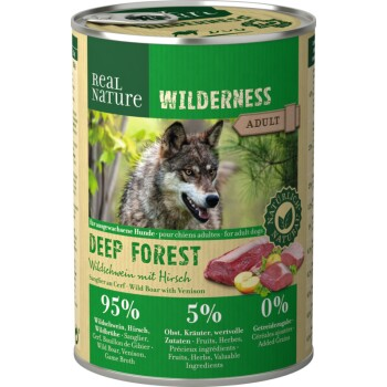 WILDERNESS Adult 6x400 g Deep Forest Cinghiale con Cervo