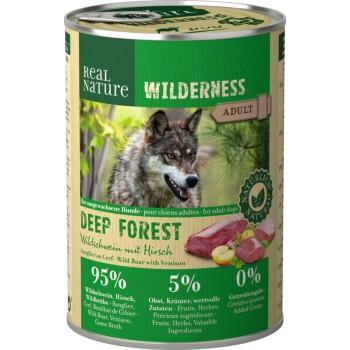 WILDERNESS Adult 6x400g Deep Forest Wildschwein mit Hirsch