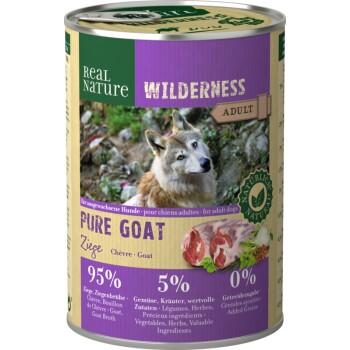 WILDERNESS Adulte 6x400g Pure Goat Chèvre