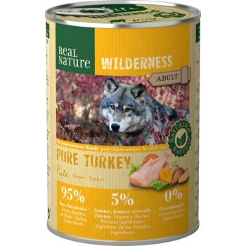 WILDERNESS Adult 6x400g Pure Turkey Pute