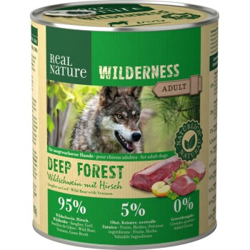 WILDERNESS Adult 6 x 800 g Dzik z Jeleniem