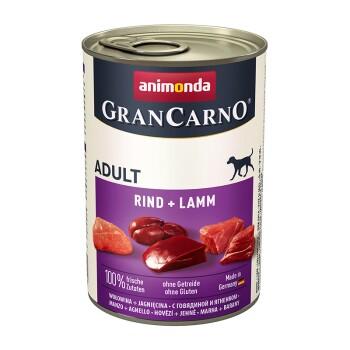 GranCarno Original Adult 6x400g Rind & Lamm