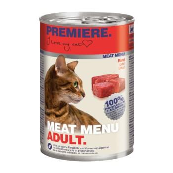 Meat Menu Adult 6x400g Rind