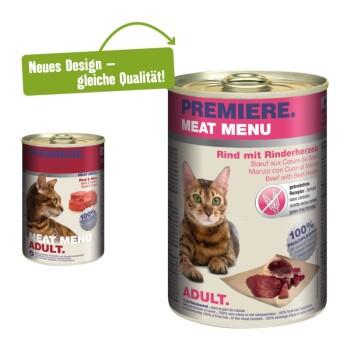 Meat Menu Adult 6x400g Rind & Herz