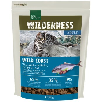 WILDERNESS Wildcoast Adult Thunfisch mit Huhn, Büffel & Krill 300g