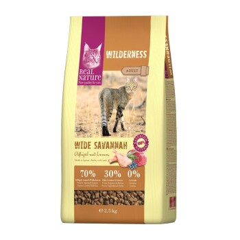 WILDERNESS Adult Wide Savannah Volaille et agneau 2,5 kg