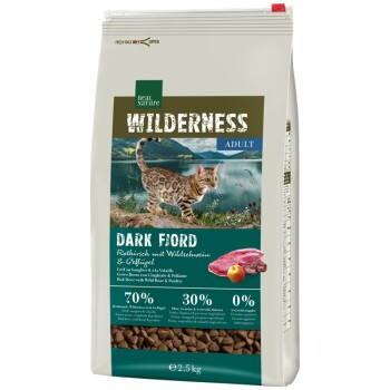 Wilderness Dark Fjord Adult Renifer z dzikiem i drobiem 2,5 kg