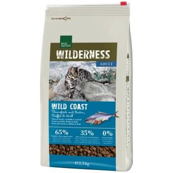 WILDERNESS Wildcoast Adult Thunfisch mit Huhn, Büffel & Krill 2,5kg