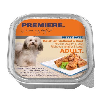 Petit Pâté 11 x 150 g Drób i wołowina