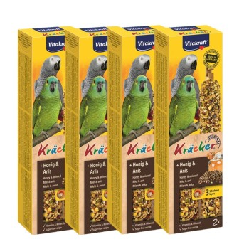 Pappagalli cracker 4x2 Miele-anice