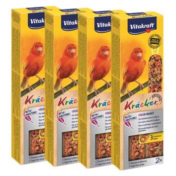 Kanarienvogel Kräcker 4x2er Color-Booster