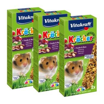 Kräcker Hamster 3x2er Traube-Nuss