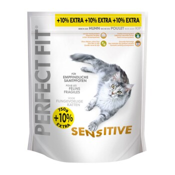 Sensitive 750g + 10% gratis