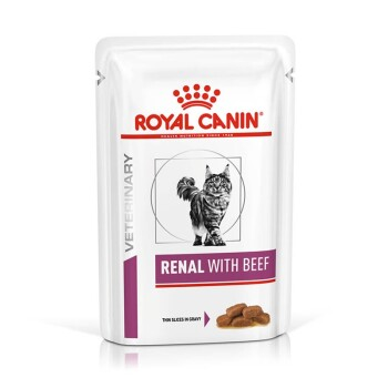 Veterinary Diet Feline Renal 12x85g Rind