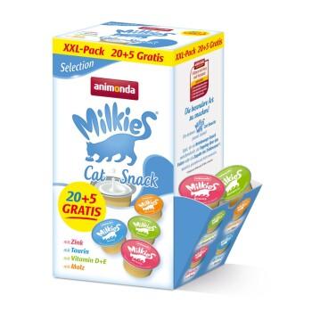 Milkies 20+5 gratis XXL-Pack Selection