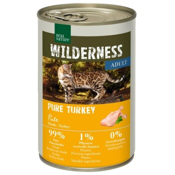 WILDERNESS Adult 6x400g Northern Turkey Pute