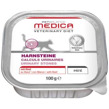 Medica Régime calculs urinaires 16x100g Bœuf
