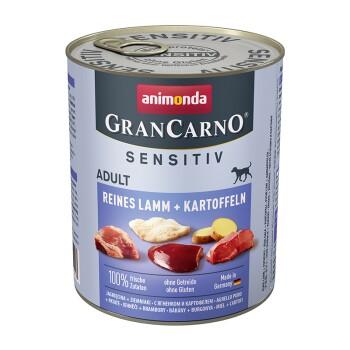 GranCarno Sensitiv 6x800g Lamm & Kartoffel