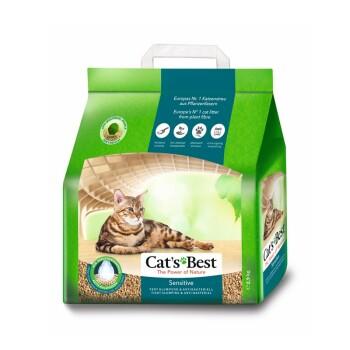 Żwirek zbrylający CAT'S BEST Sensitive 2,9 kg