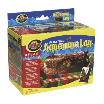 Zoo Med Floating Aquarium Log S