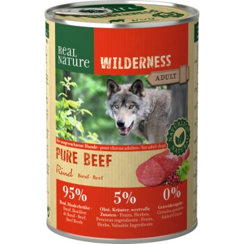 WILDERNESS Adult 6x400g Pure Beef  Rind