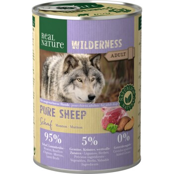 WILDERNESS Adult 6x400 g Pure Sheep Pecora