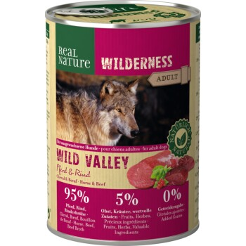 WILDERNESS Adulte 6x400 g Cheval & Bœuf