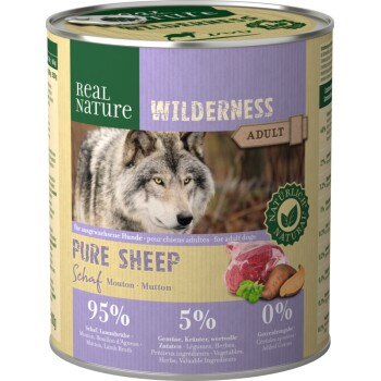 WILDERNESS Adult 6x800 g PURE SHEEP Mouton