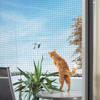 Filet de protection pour chat env. 3 x 8 m