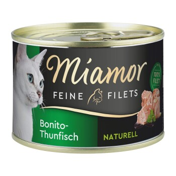 Feine Filets Naturell 12x156g Bonito-Thunfisch