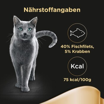 Feine Filets 24x80g Thunfischfilets & Garnelen
